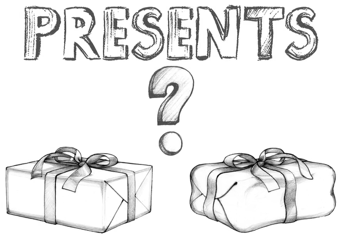 Picture of 2 presents